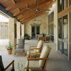Amazing covered patio
