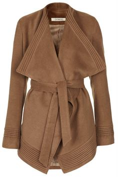 Phoebe Wrap Over Coat  by Jovonnista