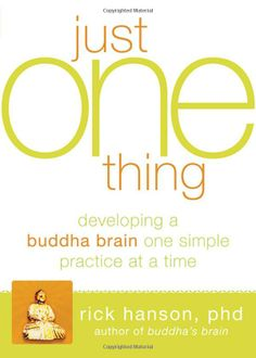 Amazon.com: Just One Thing: Developing A Buddha Brain One Simple Practice at a Time (9781608820313): Rick Hanson: Books