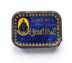 Vintage Sardine Tin