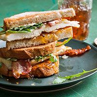 Sweet and Spicy Bacon Chicken Sandwiches