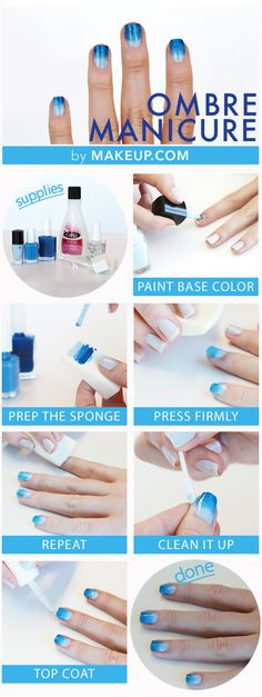 how to: ombre nails #manicure