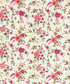Liberty fabric for bunting