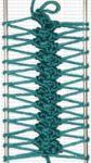 Formas de tejer en la horquilla o hairpin lace