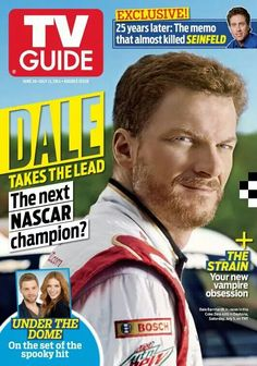 Dale Jr on TV Guide
