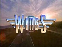 "Wings is an American sitcom that ran on NBC from April 19, 1990, to May 21, 1997. Starring Tim Daly and Steven Weber as brothers Joe and Brian Hackett, the show is set at the fictional ""Tom Nevers Field"""