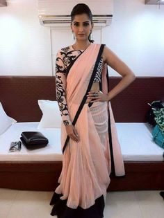 Sonam Kapoor - Tatoo inspired Blouse!