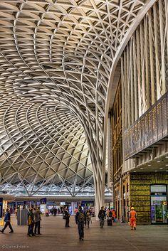 Kings Cross Station, London.