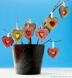 Heart shaped cookie tree