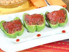 "Sweetie Pies' Soul Food ""MEATLOAF STUFFED BELL PEPPERS""  | Recipe courtesy of Restauranteur Miss Robbie Montgomery"