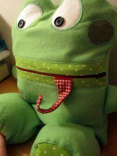 frog pajama eater