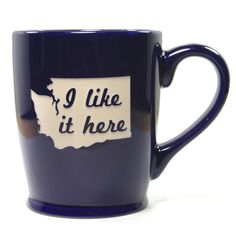Love this mug cup, washington state, coffee, washington gifts, breads, place, blues, black friday, mugs