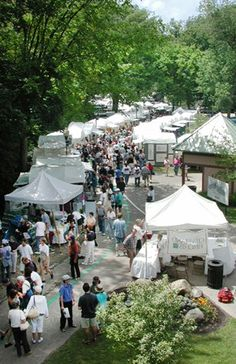 The Cain Park Arts Festival ~ July 13-15, 2012 ~ Cleveland Heights, Ohio