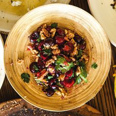 Cherry & Herb Salad | SAVEUR