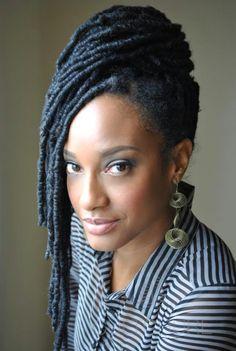(via Atlanta Naturally Fierce) yarn loc extentsions | yarn braids