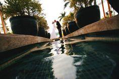 A blissful tropical elopement. PC to @annakimphoto @FSBridal #LuxBride #WeddingWednesday