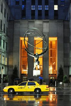 NYC: Rockfeller Center - Atlas