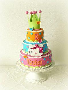 Hello Kitty Cake www.almiesbakery.nl