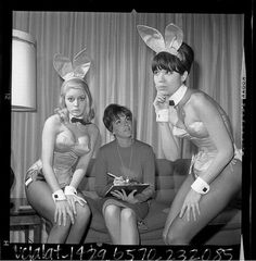 Playboy Bunnies, back in the day