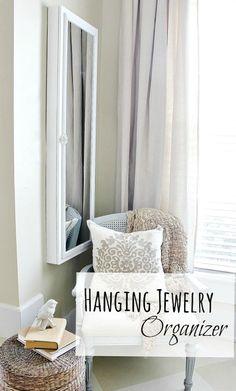 hanging-jewelry-organizer tutorial