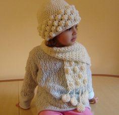 PDF Instant Download Crochet PATTERN No 093 White by JTeasycrochet, $3.99