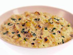 Grilled Cream Corn with Parmesan Recipe : Giada De Laurentiis : Food Network