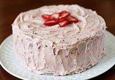 Strawberry Cake sweet treat, strawberry cakes, strawberri dream, strawberri cake, dreams, strawberry dream cake, strawberries, yummi food, cake recipes
