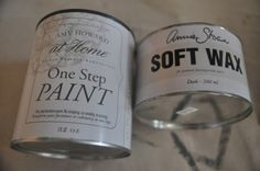 Kendall Boggs Fine Arts and Crafts: Amy Howard vs. Annie Sloan Paints....