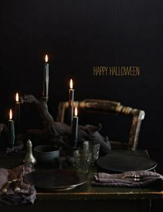 Halloween In Black – The Most Stylish And Scary Party Ever