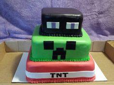Mine craft cake 2