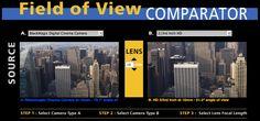 Updated AbelCine Field of View Calculator