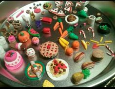 Follow me, cannibiqueen! This is dollhouse food that I made with my aunt. I'm thinking of starting to make these to sell. If you would like some, message me and I can make whatever you'd like custom to order!