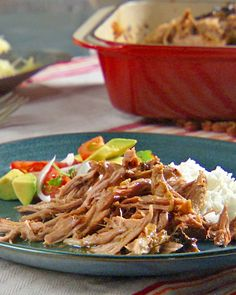 Cuban-Style Pork Roast - Martha Stewart Recipes - We love this pork recipe. Instead of roasting in the oven I cook it in the crock pot and remove it from the liquid right after cooking. Discard liquid when cool.