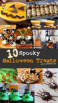 10 of the BEST Halloween recipes & treats!