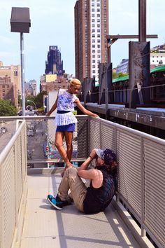 ni'ma ford   | Ni'Ma Ford, NYC's Fashion Mood Wearing Laura De Barra