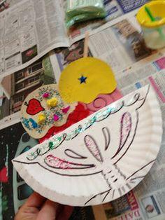 Summer Ice Cream Sundae - Toddler Arts and Crafts