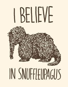 Snuffy was my favorite . . .