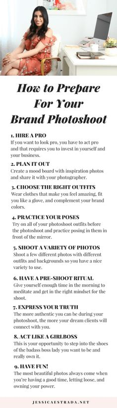 Want to uplevel your brand? High-quality photographs are the way to do that! Click through to read my top nine tips for preparing for your personal brand photoshoot. Plus, grab your FREE BRANDING WORKBOOK too! | #personalbranding #personalbrandingphotoshoot #personalbrandingideas #personalbrandingtips #onlinebusinessmarketing #personalbrandinginspiration #personalbrandingexamples #personalbrandingheadshots #personalbrandingworksheet #buildingapersonalbrand #onlinebusinesstips #businesscoach
