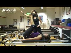 Reformer demo at Pilates Studio at Central YMCA Club - YouTube