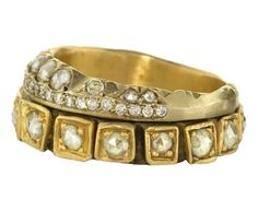 ♥ the rustic quality of this Nak Armstrong ring
