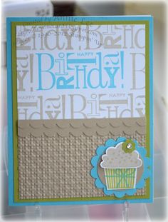 Love to Make Cards: Create a Cupcake