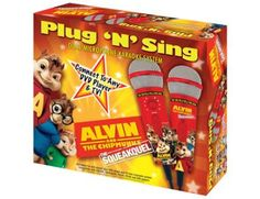 Alvin And The Chipmunks Dual Plug 'n' Sing Karaoke