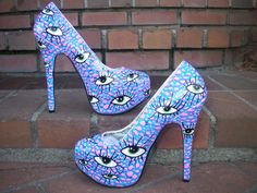 Eyeball high heels i do not want those