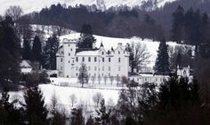 wildeyedsoutherncelt: Blair Castle in the snow