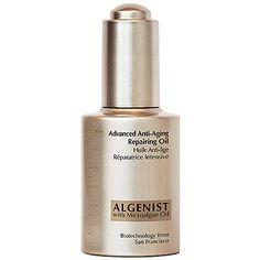 Algenist Advanced Anti-Aging Repairing Oil #DareToOil #Sephora #faceoils