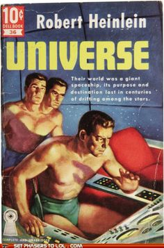 Sci-Fi Book Covers: Universe