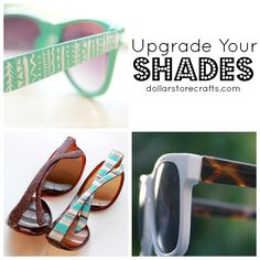 10 Ways to Jazz Up Your Sunglasses
