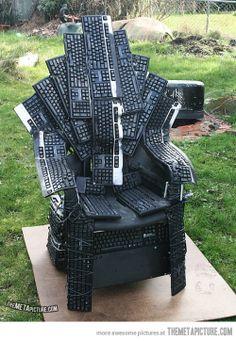 Throne of nerds…