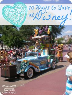 Planning a trip to Disney? Check out these 10 Ways to Save at Disney.