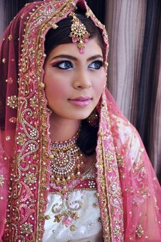 Beautiful Pink Wedding Dresses | Amazing Fashion: Best Indian Wedding Style